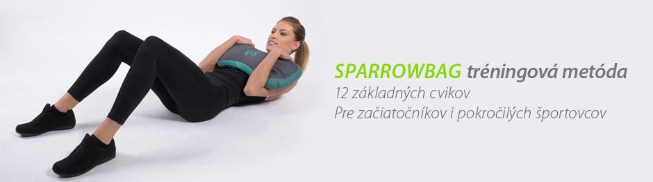 SPARROWBAG tréningová metóda 12 základných cvikov Pre začiatočníkov i pokročilých športovcov